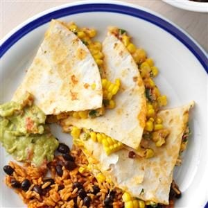 Corn Quesadillas