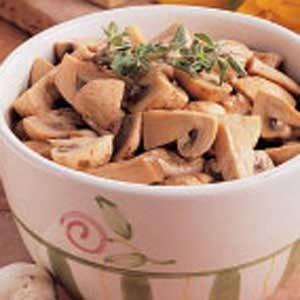 Tangy Marinated Mushrooms Recipe
