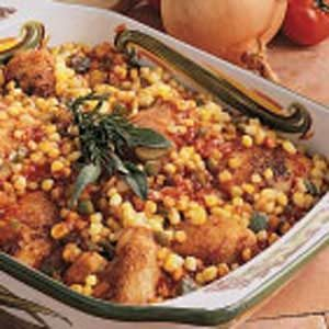Barbecue Chicken Casserole Recipe