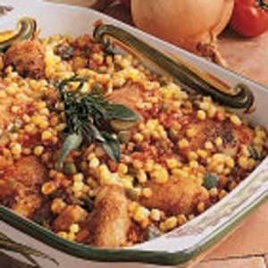 Barbecue Chicken Casserole Recipe