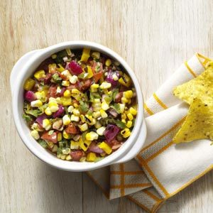 Smoky Grilled Corn Salsa Recipe