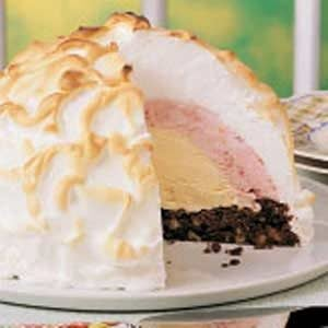 Brownie Baked Alaska Recipe