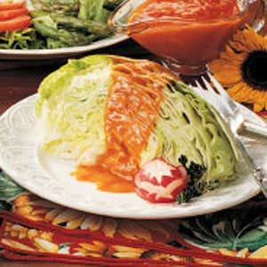 French Dressing Over Iceberg Wedges Recipe