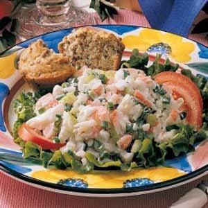 Cottage Cheese Crab Salad Recipe