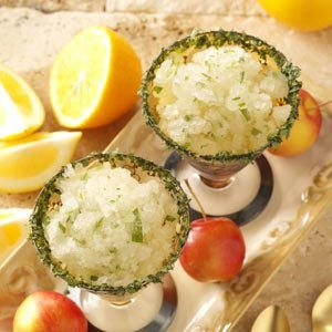 Apple Tarragon Granita
