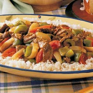 Curry Beef Stir-Fry Recipe