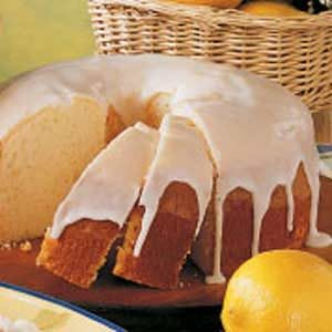 Moist Lemon Chiffon Cake