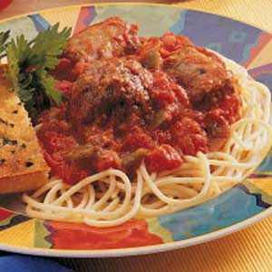 Mom's Hearty Spaghetti Recipe