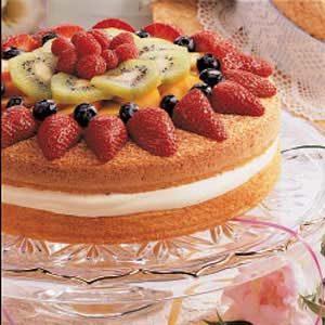 Midsummer Sponge Cake Recipe