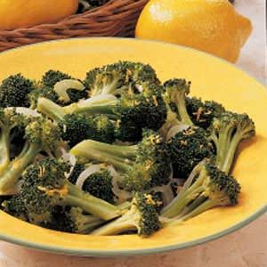 Steamed Lemon Broccoli Recipe