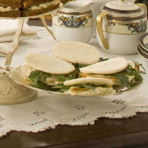 Pear-Walnut Tea Sandwiches Recipe