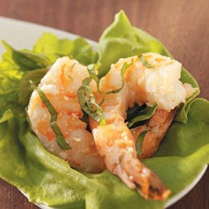 Basil Parmesan Shrimp Recipe