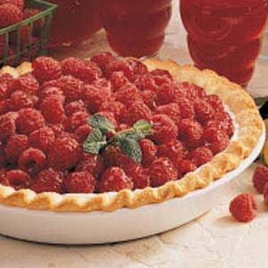 Glazed Raspberry Pie