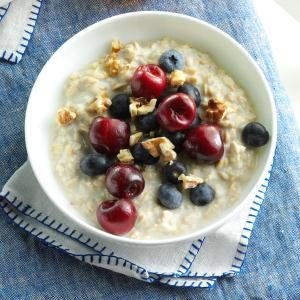 Cool Summertime Oatmeal Recipe