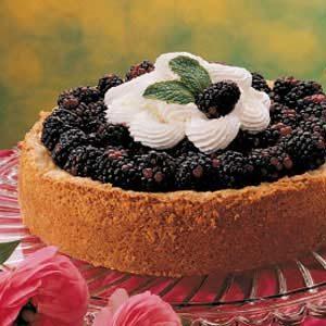 Blackberry Custard Torte Recipe