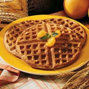 Wheat Waffles Recipe