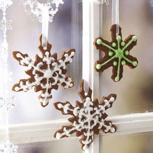 Cinnamon Snowflake Ornaments Recipe