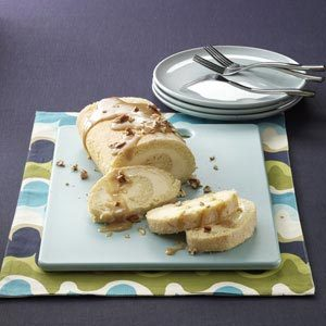Makeover Old-Fashioned Ice Cream Roll Recipe