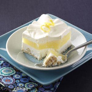 Makeover Frosty Lemon Squares Recipe