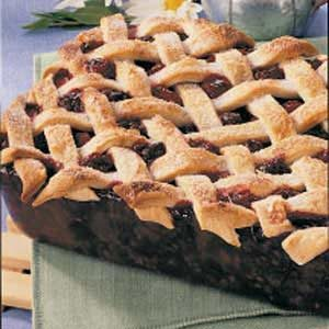 Deep-Dish Blackberry Pie Recipe