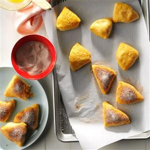 Cinnamon-Sugar Sweet Potato Pastries Recipe