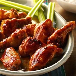 Glazed Chicken Wings Recipe