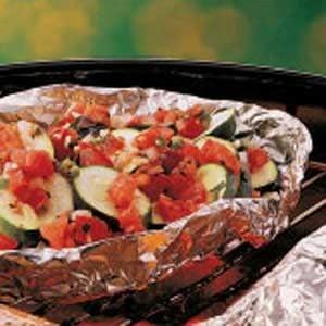 Zucchini with Salsa Recipe