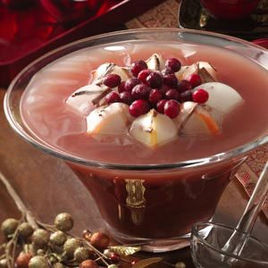 Winter Plum Punch Recipe