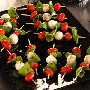 Caprese Salad Kabobs Recipe