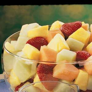 Melon Fruit Bowl Recipe