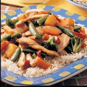 Pineapple Chicken Stir-Fry Recipe