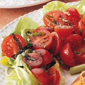Basil Cherry Tomatoes Recipe
