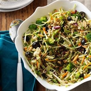 Watch Us Make: Nutty Broccoli Slaw
