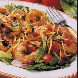 Shrimp Taco Salad Recipe