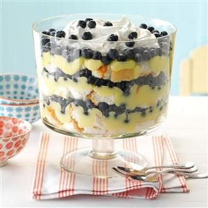 Blueberry Lemon Trifle Recipe