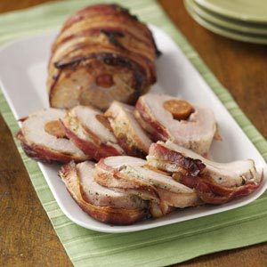 Andouille-Stuffed Pork Loin Recipe