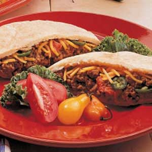 Tex-Mex Pitas Recipe