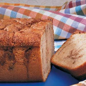 Cinnamon Coffee Cake Loaf