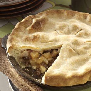 Brandy Pear Pie Recipe