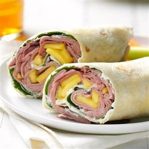 Tropical Beef Wrap Recipe