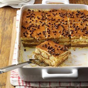 Hot Chocolate Tiramisu Recipe