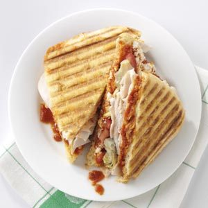 Mediterranean Turkey Panini Recipe
