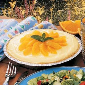 Refrigerator Orange Pie Recipe