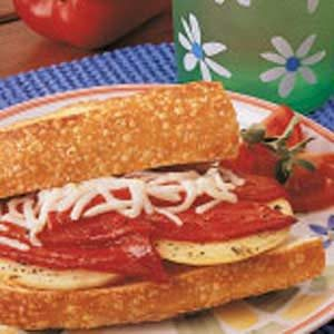 Roasted Pepper and Onion Sandwiches Recipe
