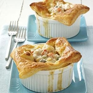 Individual Turkey Potpies