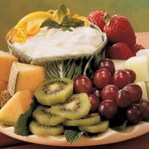 Citrus Fruit Dip Recipe