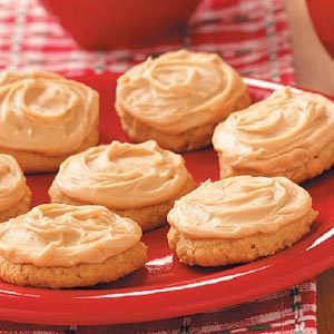 Frosted Peanut Cookies Recipe