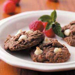 Chocolate Raspberry Cookies Recipe