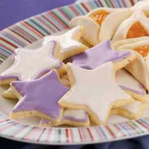 Glazed Anise Cookies Recipe
