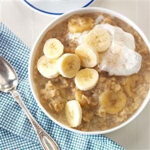 Bananas Foster Oatmeal Recipe